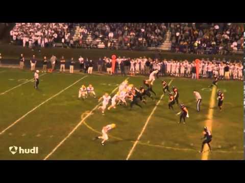 Jake Wilson 2013 Hononegah Football Highlights