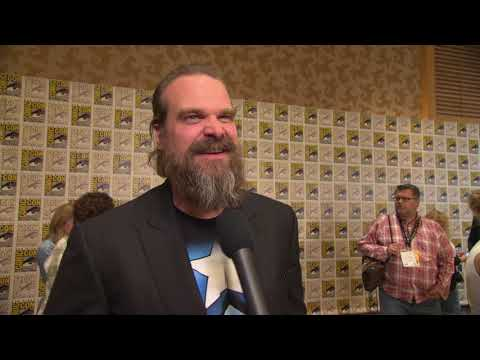 Black Widow: David Harbour Comic-Con 2019 Movie Interview