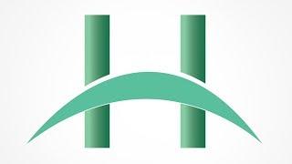 Erstellen Sie Einen Brief Mit H-Logo | H Buchstaben Logo Design Illustrator
