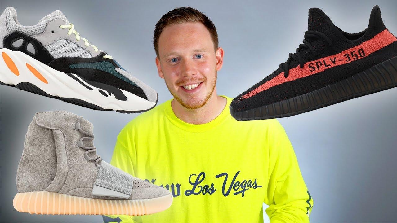 TOP 10 Adidas YEEZY Sneakers - YouTube
