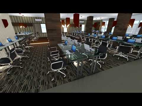 Lumion +Sketchup: SSL Office interior design & walk though animation by PRODHAN