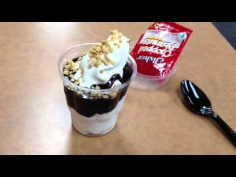 Mcdonalds Hot Fudge Sundae With Peanuts Youtube