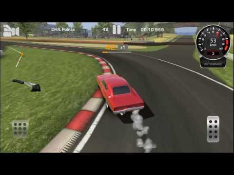 Dodge Challenger drifting