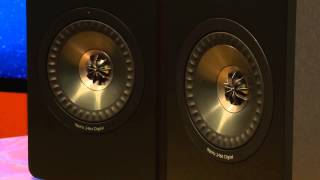 kEF X300A HiFi Powered Monitor Speakers Video Review
