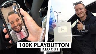 Ich erhalte einen Playbutton (Iced Out 💎)