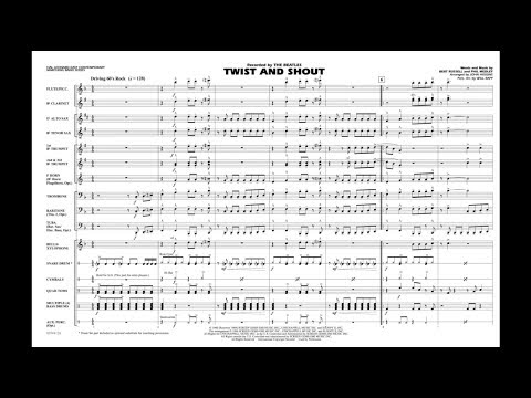 Twist and Shout arranged by John Higgins
