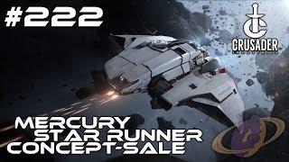 Star Citizen #222 Crusader Mercury Star Runner - Concept Sale [Deutsch]