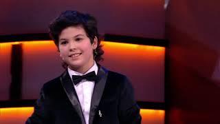 Юный таджикский пианист Самир Абдуразаков выступил на российском Первом канале
