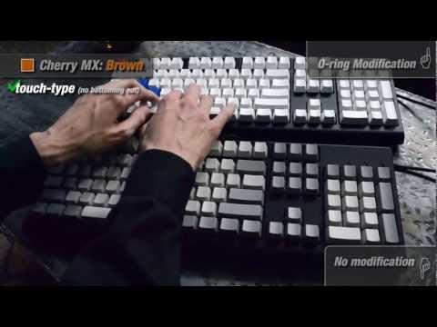 WASD Keyboards: Cherry MX Switch Sound Comparison