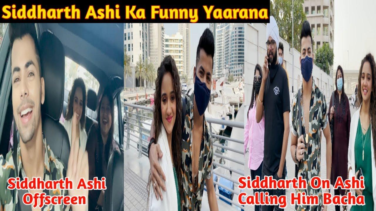 Download Siddharth Ashi Ka Yaarana| Siddharth On Ashi Calling Him Bacha|Siddharth Ashi Offscreen| Kareeb BTS|