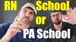 RN vs PA vs NP: Which is for you?
