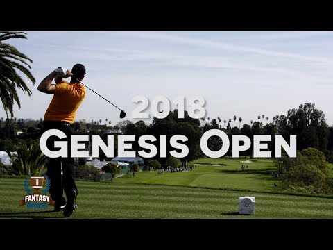 PGA – 2018 Genesis Open | Daily Fantasy Golf Strategy | DailyFantasyWinners