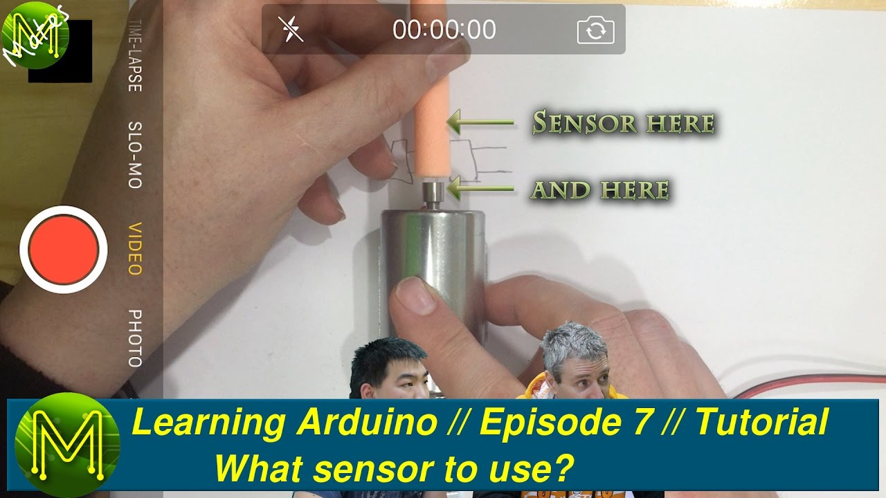 061 Learning Arduino What Sensor To Use Episode 7 Tutorial Of The Opto Switch Or Interrupter As A Ro Meccanisms Youtube