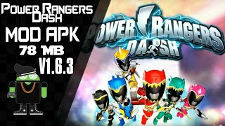 Power Rangers Dash Mod Apk V1.6.3