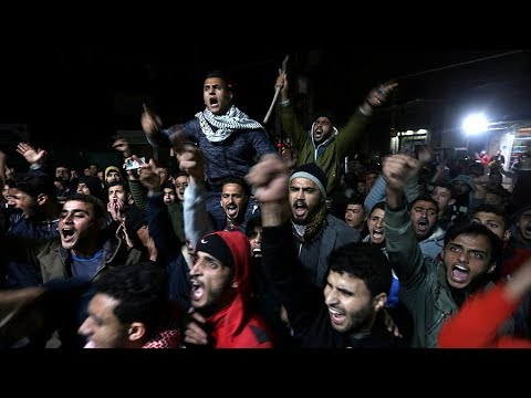 Protests, escalating violence in Palestine after embassy announcement