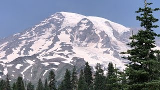 Mt. Rainier National Park - Paradise and Narada Falls