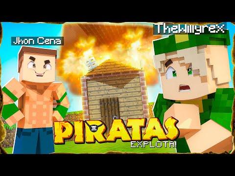 JOHN CENA EXPLOTA MI CASA! PIRATAS #3