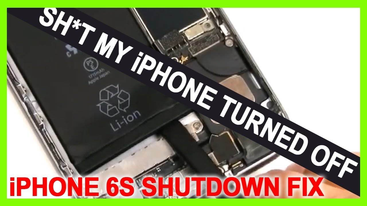 how to turn on iphone 6s