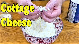 Homemade Cottage Cheese From Raw Milk the Old Fashioned Way