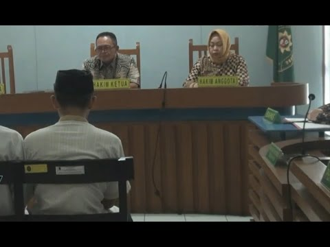 Dua Pengeroyok Haringga Divonis 3 & 3,5 Tahun Penjara Mp3