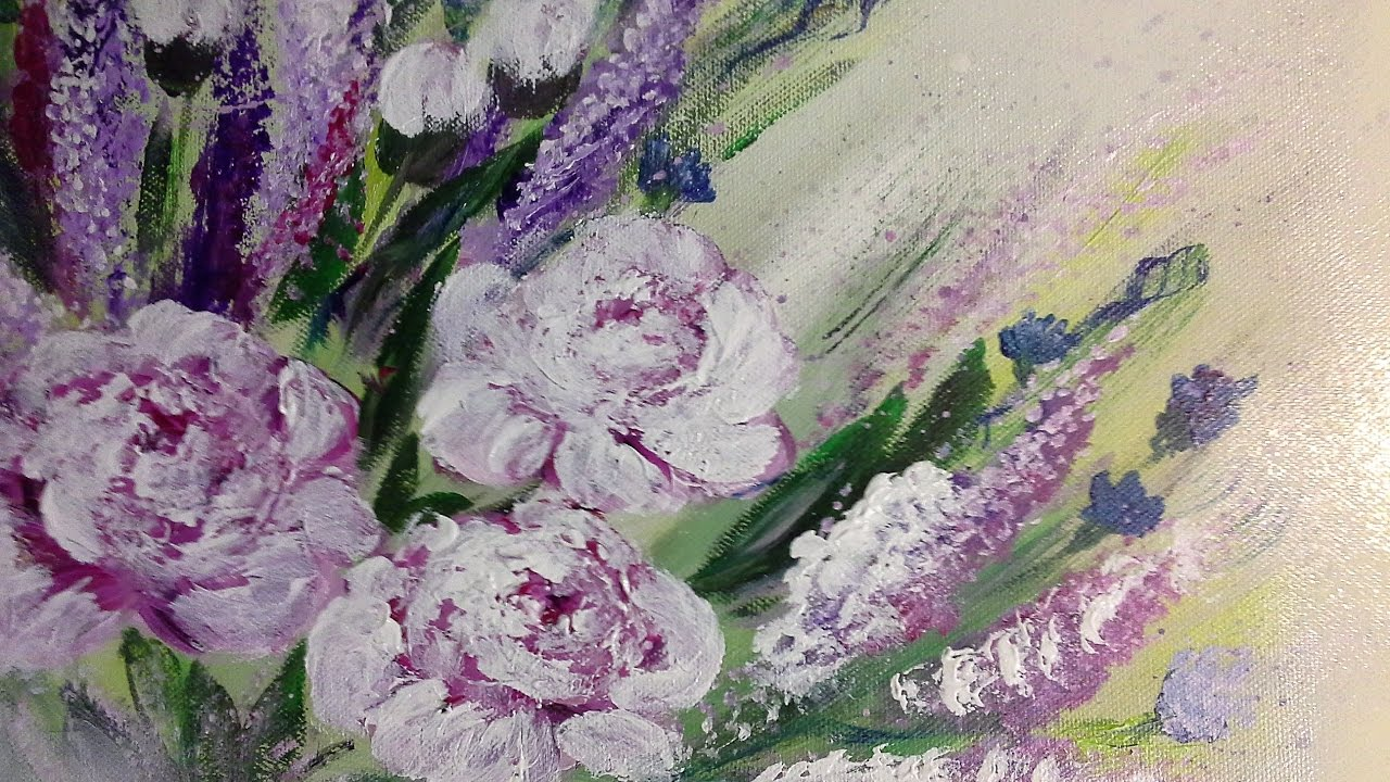 White flowersEinfach Malenfr Anfnger in EchtzeitFor
