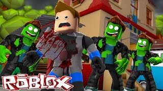 ROBLOX - ZOMBIE'S CUT SCUBA STEVE INTO A 1000 LITTLE PIECES