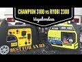 RYOBI 2300 vs CHAMPION 3100 - Which One is Right for Your RV?
