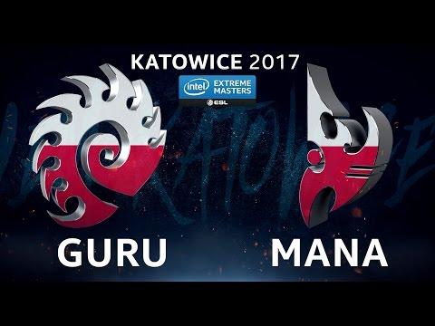 StarCraft II - Guru vs. MaNa [ZvP]  - B4 Upper Ro8 - IEM Katowice 2017