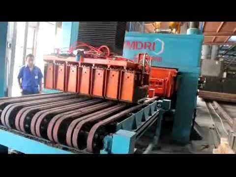 blind hole brick molding machine