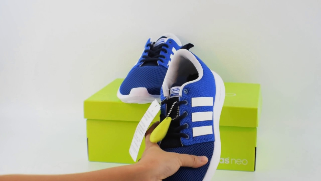 bd7d6c19c5d19 Giày thể thao nam Adidas Neo Cloudfoam Swift Racer AW4155 - YouTube