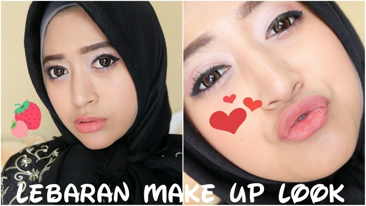 MAKEUP FOR IDUL FITRI DRUGSTORE PRODUCTS LebaranDollyssential