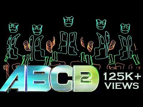 LED TRON Dance India | ABCD2 | Illuminati