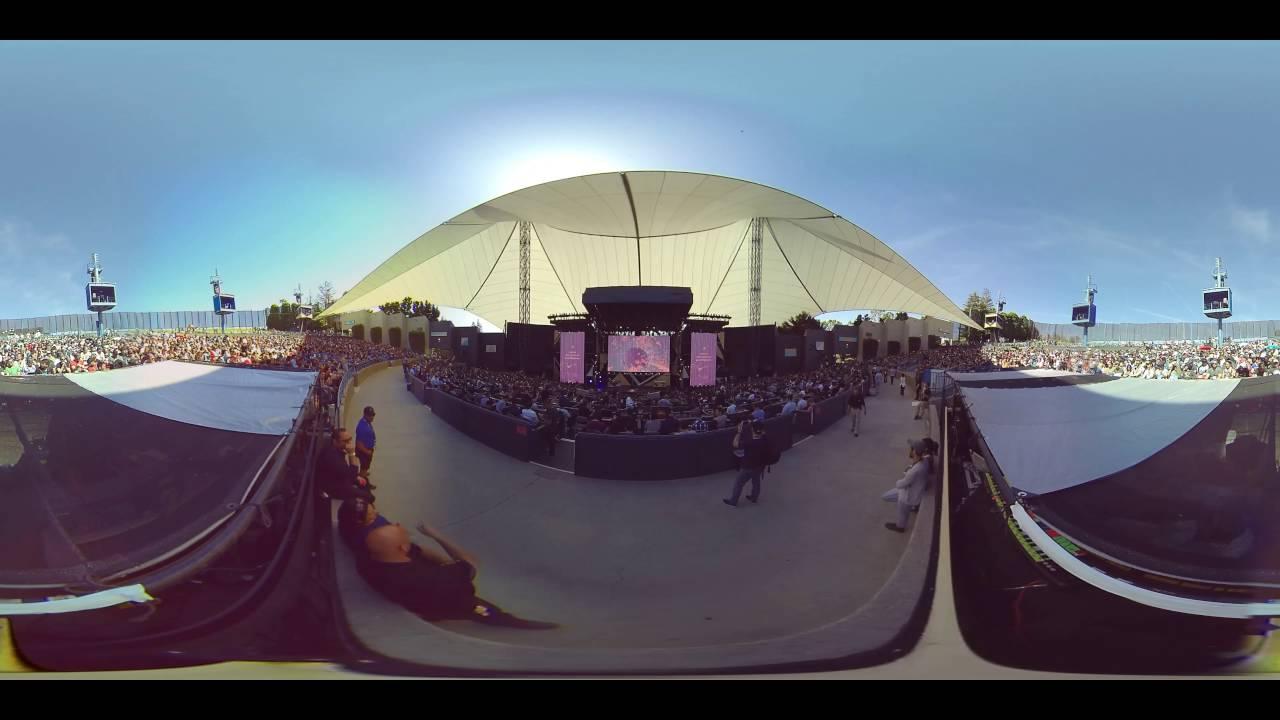 Google I/O 2016 broadcast live VR on YouTube with Orah 4i
