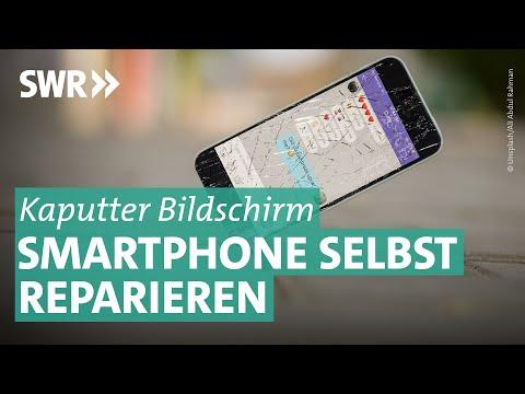 Smartphone: Gesprungenes Display günstig reparieren