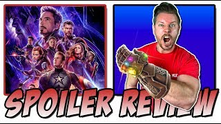 Avengers: Endgame - Spoiler Movie Review & Discussion