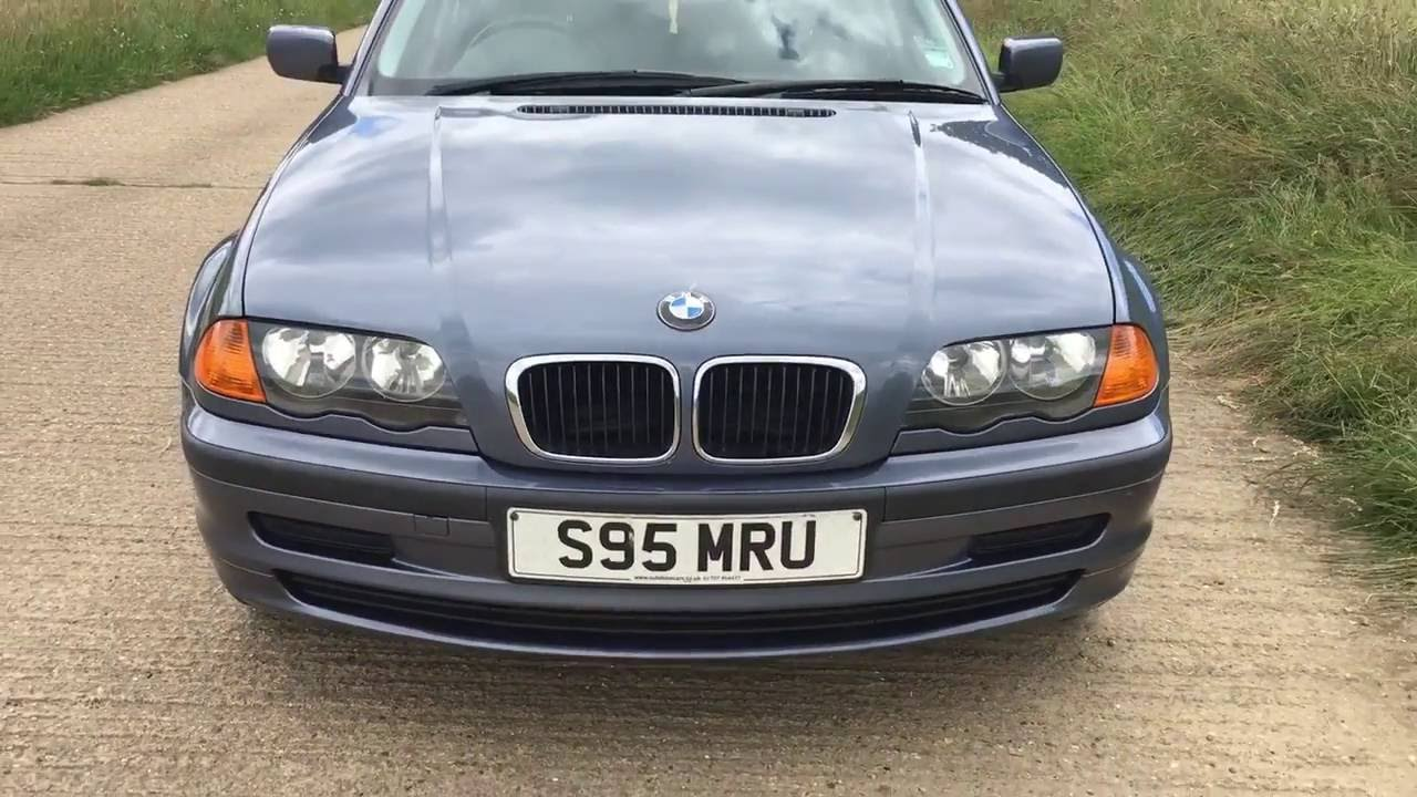 1998 bmw 318 318i auto e46 first year 3 series video. Black Bedroom Furniture Sets. Home Design Ideas