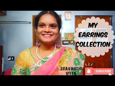 My Earrings Collection/ #4 Latest Earrings Collection 👌👌