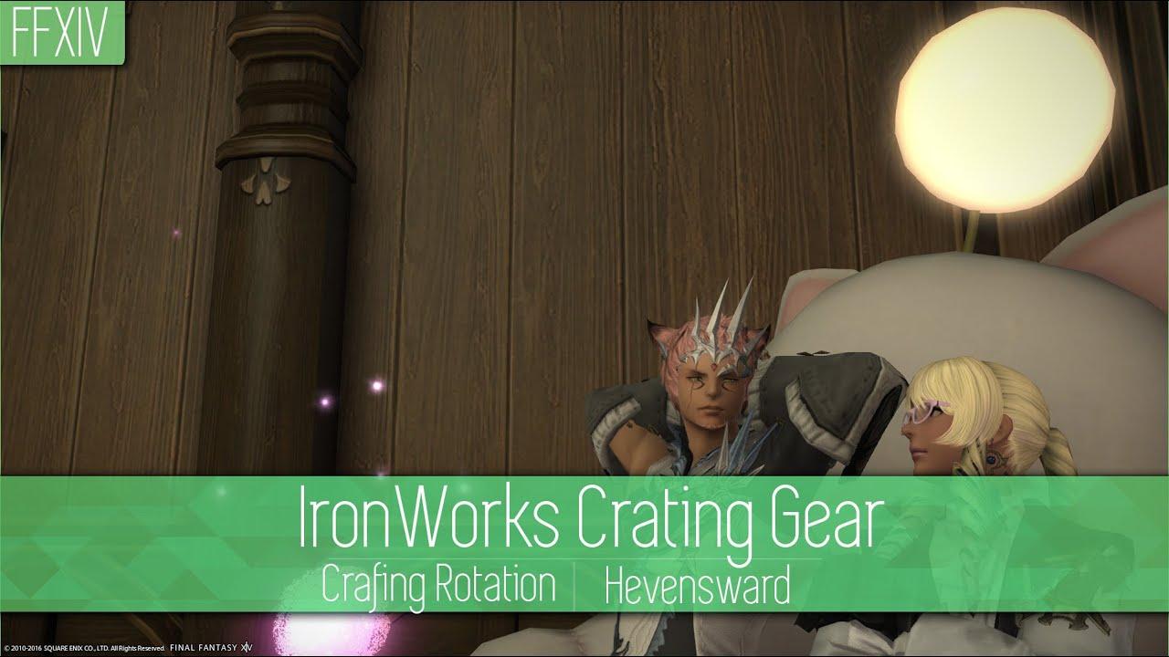 Ffxiv Ironworks Crafting Rotation