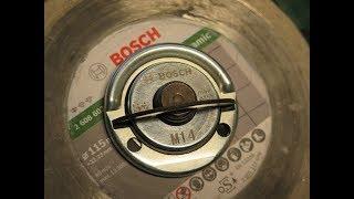 оснастка: NEW! Bosch 2608000684 - быстрогайка М14 для GWS (УШМ, болгарка)