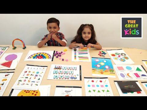 Activity Worksheets For Nursery, Kindergarten And Pre School