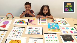 Zapętlaj Activity Worksheets for Nursery, Kindergarten and Pre School | The Great Kids