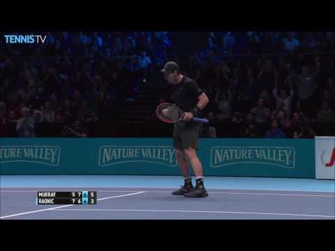 Murray-Raonic, Djokovic-Nishikori Semi-Final Highlights: 2016 Barclays ATP World Tour Finals |