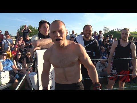 SUPER COP vs MMA Fighters !!! real fight !!