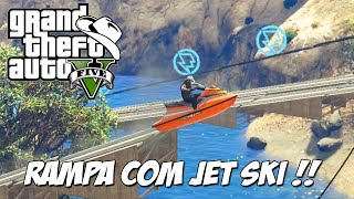 GTA 5 Online (PC) - Corrida Dam Jumpers: Rampa de Jet Ski