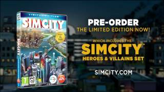 SimCity Limited Edition | Heroes and Villains
