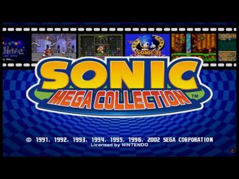 Sonic Mega Collection [GameCube] Gameplay [1080p]