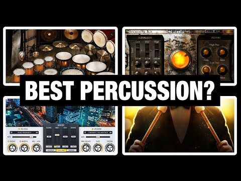 10 Amazing Orchestral Percussion VST Libraries