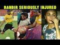 Ranbir Kapoor Serious INJURY During Football Match | SANJU Promotions | Ranbir Alia Bhatt Dating