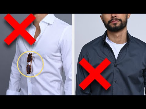 8 Ways You're Wearing Your Shirts WRONG