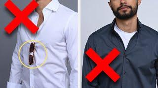 8 Ways You're Wearing Your Shirts WRONG